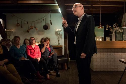 bijeenkomst Entrefemmes met spreker Paul Rulkens, januari 2019